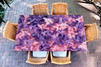 Наклейка на стол - Гиацинты| Купить фотопечать на стол в магазине Интерьерные наклейки