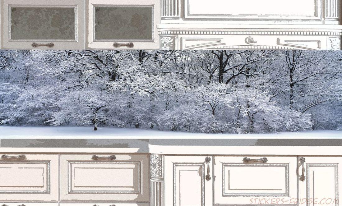 Фартук для кухни - Белый и пушистый