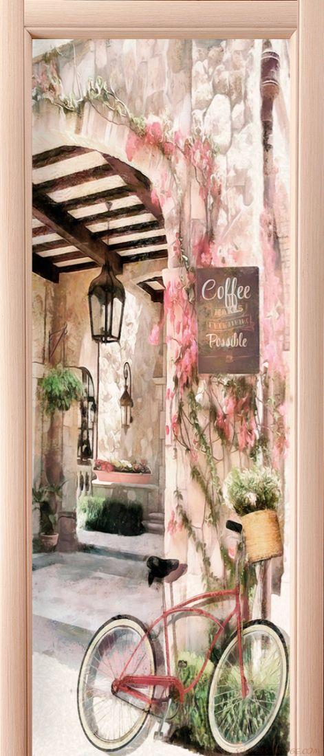 Фотообои на дверь - Сиеста
