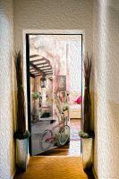 Наклейка на дверь - Сиеста