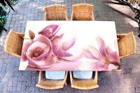 Наклейка на стол - Магнолия | Купить фотопечать на стол в магазине Интерьерные наклейки