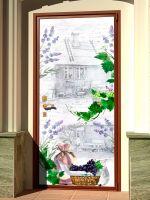 Наклейка на дверь - Письмо Изабель купить в магазине Интерьерные наклейки