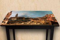Наклейка на стол - Двор каменщика | Купить фотопечать на стол в магазине Интерьерные наклейки
